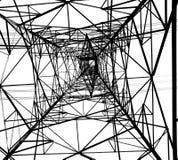 Große Elektrizität Powermast Stockbilder