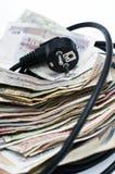 Große Energierechnung Lizenzfreie Stockfotos