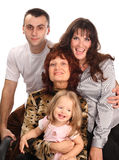 Große Familie. Lizenzfreie Stockbilder