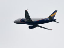 Große Fluglinie Donavia Passagier Airbusses A319-112 Lizenzfreie Stockbilder