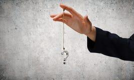 Große Frage Lizenzfreies Stockfoto