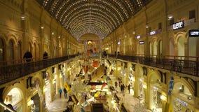 Große Galerie des Shops stock footage