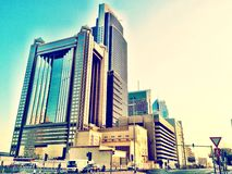 Große Gebäude Lizenzfreies Stockbild
