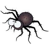 Große gemusterte Spinnenabbildung Lizenzfreies Stockbild