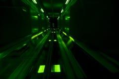 Große Geschwindigkeit innen unterirdisch stockbild