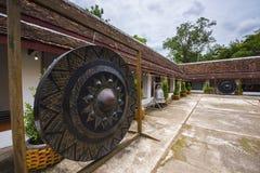 Große Glocke im Tempel Lizenzfreies Stockfoto