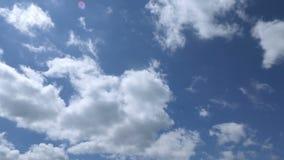 Große graue Wolken bedeckten den Himmel, Zeitversehen stock video footage