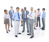 Große Gruppe Geschäftsleute Stockbild
