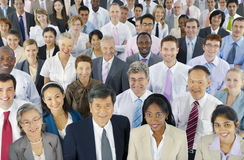 Große Gruppe Geschäftsleute Lizenzfreie Stockbilder