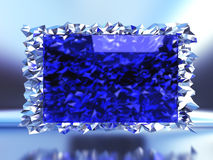 Große Gruppe Juwelen stock abbildung