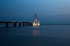 Große Gurt-Brücke Lizenzfreies Stockbild
