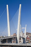 Große Hängebrücke Lizenzfreie Stockbilder
