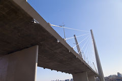 Große Hängebrücke Lizenzfreies Stockfoto