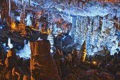 Große Höhle in Israel Stockfoto