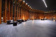 Große Halle mit Bereichen für Rest Stockbilder