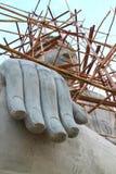 Große Hand großer Buddha Stockbilder