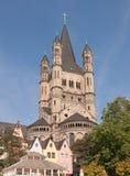 Große Heilig-Martin-Kirche stockfotos