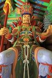 Große himmlische Könige Statue des Buddhist-vier stockbild