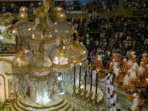 Große Hin- und Herbewegung, Rio-Karneval 2008. Stockbild