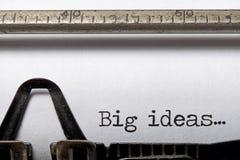 Große Ideen Lizenzfreie Stockfotos