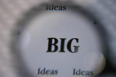 Große Ideen lizenzfreie stockfotografie