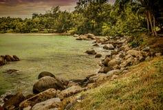 Große Insel Lizenzfreies Stockbild