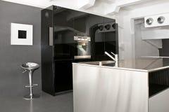 Große Küche Stockbilder