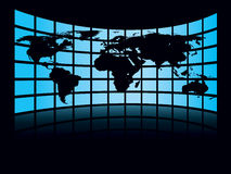 Große Karte Lizenzfreie Stockfotografie