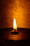 Große Kerze 2 Lizenzfreies Stockbild