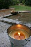 Große Kerze Lizenzfreies Stockfoto