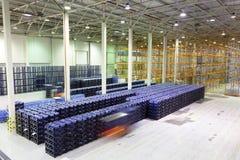 Große Konstitution für Lagerung von Fertigwaren stockfoto