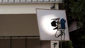 Große LED-Studiolichtausrüstung stockbilder