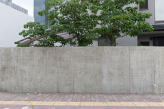 Große leere Anschlagtafel auf einer Straßenwand Lizenzfreies Stockbild