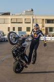 Große Leistung von Radfahrerchris-pfiffer Lizenzfreies Stockfoto