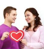 Große Liebe Stockbild