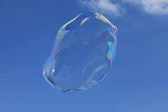 Große Luftblase stockfotografie