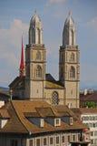 Große Münster-Kirche Stockbilder