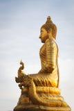 Große Marmor-Buddha-Statue Phuket-Insel, Thailand Stockbild