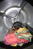 große Maschinen der Trocken-Reinigerindustrie zu den trockenen Tüchern Lizenzfreies Stockbild