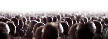 Große Masse der Leute stockfoto