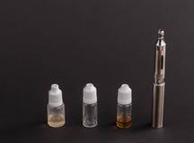 Große moderne elektronische Zigarette Stockfotografie