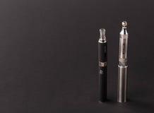 Große moderne elektronische Zigarette Lizenzfreies Stockfoto