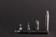Große moderne elektronische Zigarette Stockbilder