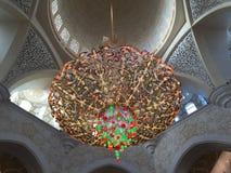 Große Moschee in Abu Dhabi Stockbild