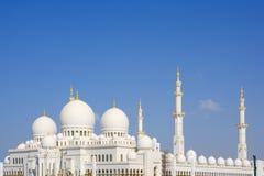 Große Moschee, Abu Dhabi, Emiräte Lizenzfreie Stockfotos