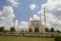 Große Moschee, Adana, die Türkei Lizenzfreies Stockbild