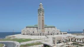 Große Moschee in Casablanca, Marokko stock footage