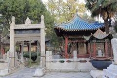Große Moschee Huajue-Wegs, luftgetrockneter Ziegelstein rgb Stockfotografie