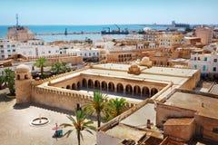 Große Moschee in Sousse Stockbild
