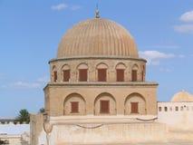 Große Moschee von Kairouan (Tunesien) Stockbilder